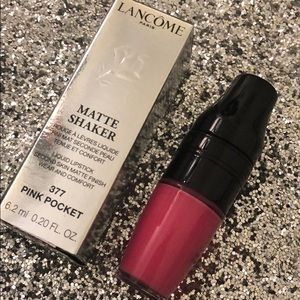 Lancome Matte Shaker Liquid Lipstick - Pink